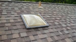 New skylight installed.
